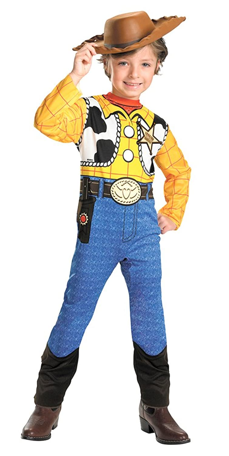 Amazon.com: Woody Toy Story Std Toddler Costume 3T To 4T - Toddler ...