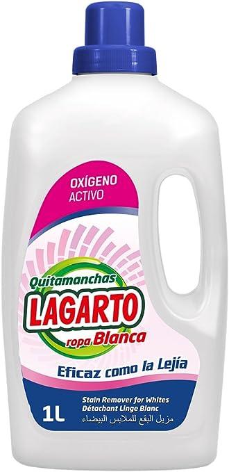 Lagarto Quitamanchas Liquido Oxi White - Paquete de 10 x 1000 ml ...