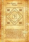 Ancient Scroll Mascot Moon - Intuition and Harmony