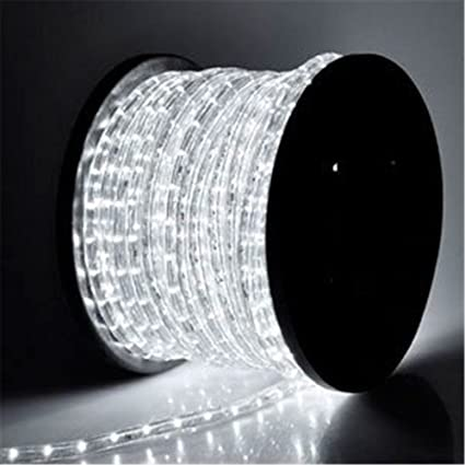 Amazon pysical 110v 2 wire waterproof led rope light kit for pysical 110v 2 wire waterproof led rope light kit for background lightingdecorative lighting aloadofball Gallery
