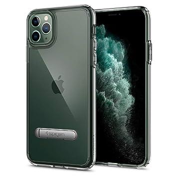 【Spigen】 iPhone 11 Pro ケース 5.8インチ 対応 スタンド付き キックスタンド 全面 クリア 米軍MIL規格取得 ウルトラ・ハイブリッド S 077CS27443 (クリスタル・クリア)