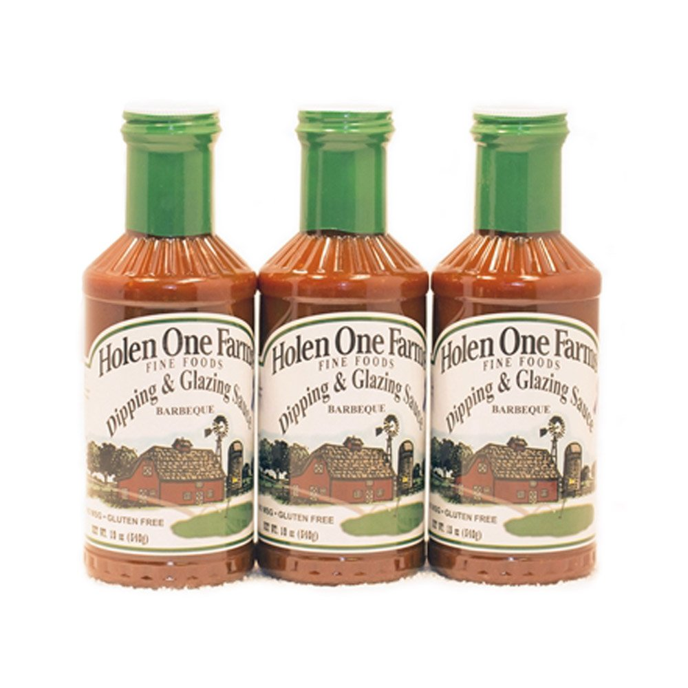 Holen One Farms Dipping & Glazing Sauces - 3 Pack - Made in the USA - Proudly Made in Nebraska