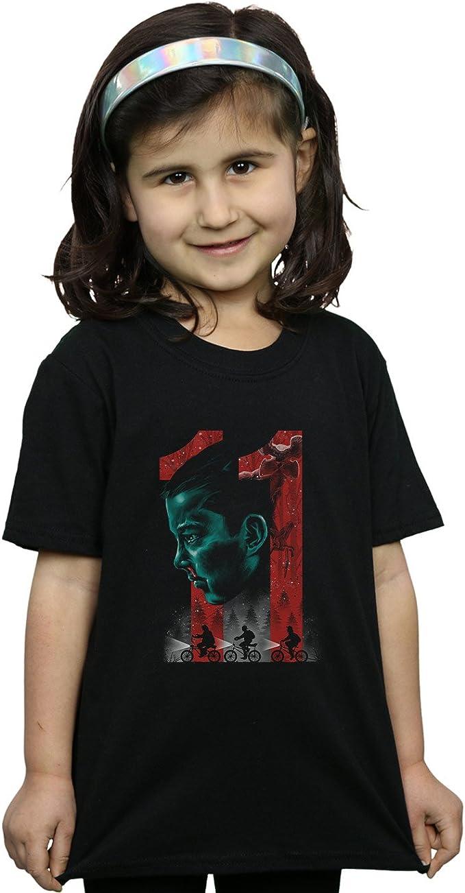 Absolute Cult Vincent Trinidad Niñas Stranger Eleven Camiseta: Amazon.es: Ropa y accesorios