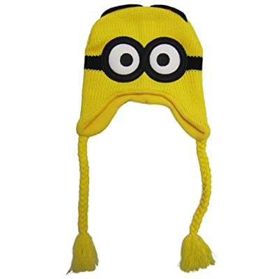 Despicable Me Minion Beanie - Junior Size Hat: Clothing