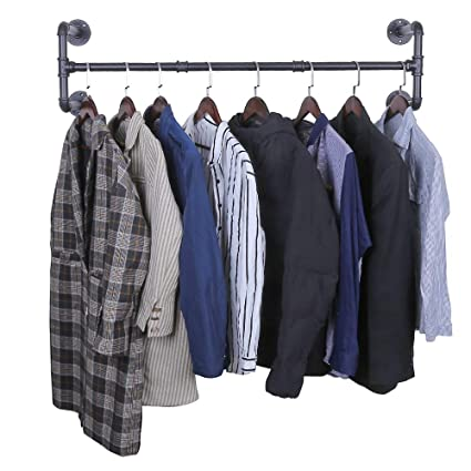 Amazoncom Oropy Industrial Pipe Clothes Rack Heavy Duty