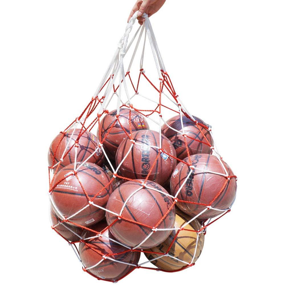 Ogquaton - Bolsa de baloncesto de red de fútbol con bolsillo de ...