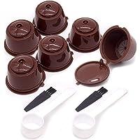 6 Piezas Cápsulas Filtros de Café Recargable Filtros Cápsulas de Café Reutilizable Capsulas Dolce Gusto Recargables con…