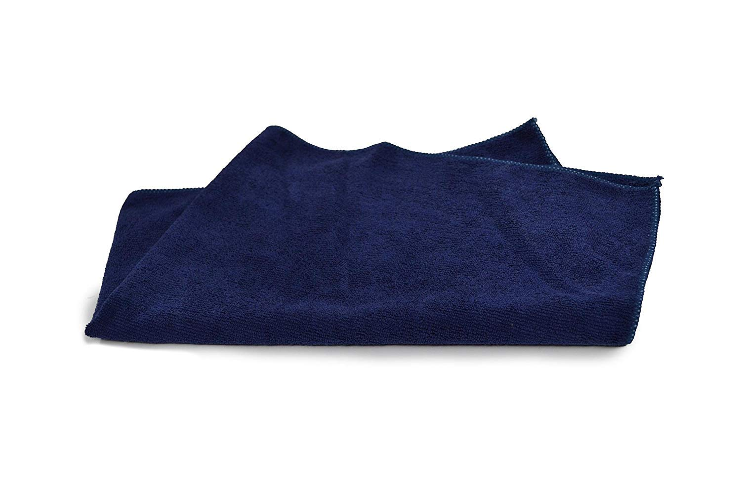 Tuf-Clean A73107 Microfiber Car Wash/Hand Towels, 16'' x 27'', Navy, Pack of 180 by Tuf-Clean (Image #2)