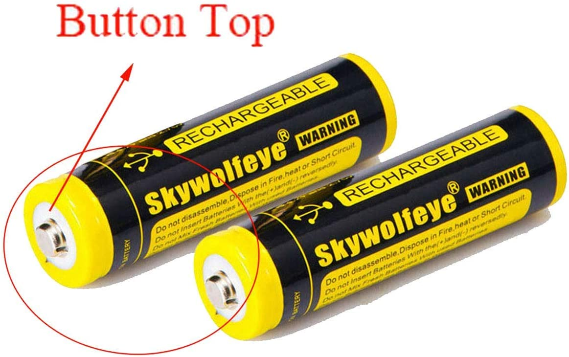 20 PCS of 18650-Rechargeable-Batteries,9900mAh 3.7V Li-ion,Button Top,65mmX18mm,For 18650 Flashlight headlight /& Electronic Tools