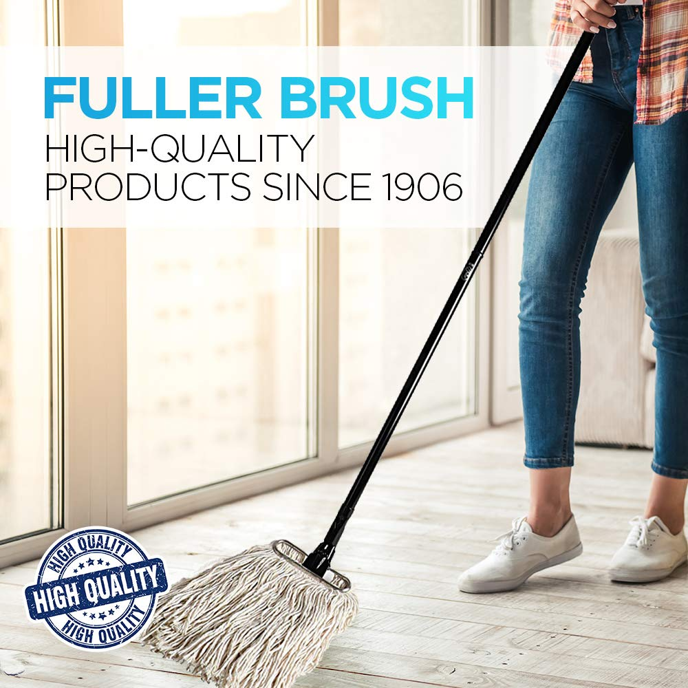Fuller Brush Wet Mop Head - Absorbent & Professional Quality Cotton Yarn Floor Cleaner for Cleaning House, Commercial & Industrial Spaces by Fuller Brush