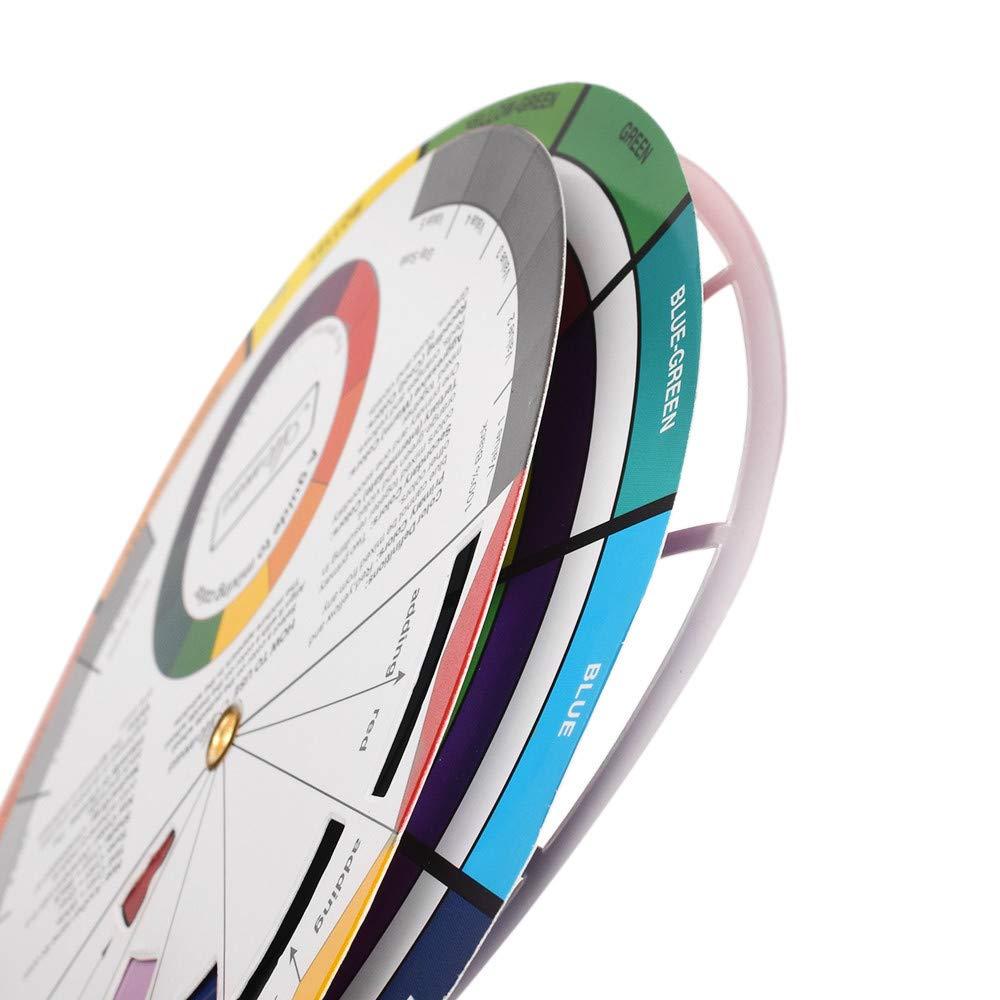 Amazon.com: Color Wheel & Tattoo Pigment Kit, ATOMUS 10 ...