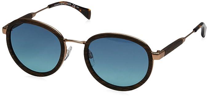 Tommy Hilfiger Sonnenbrille Th 1307/S /Wq1 /X2 / Woodbrw Gold Z5Ui7BJ