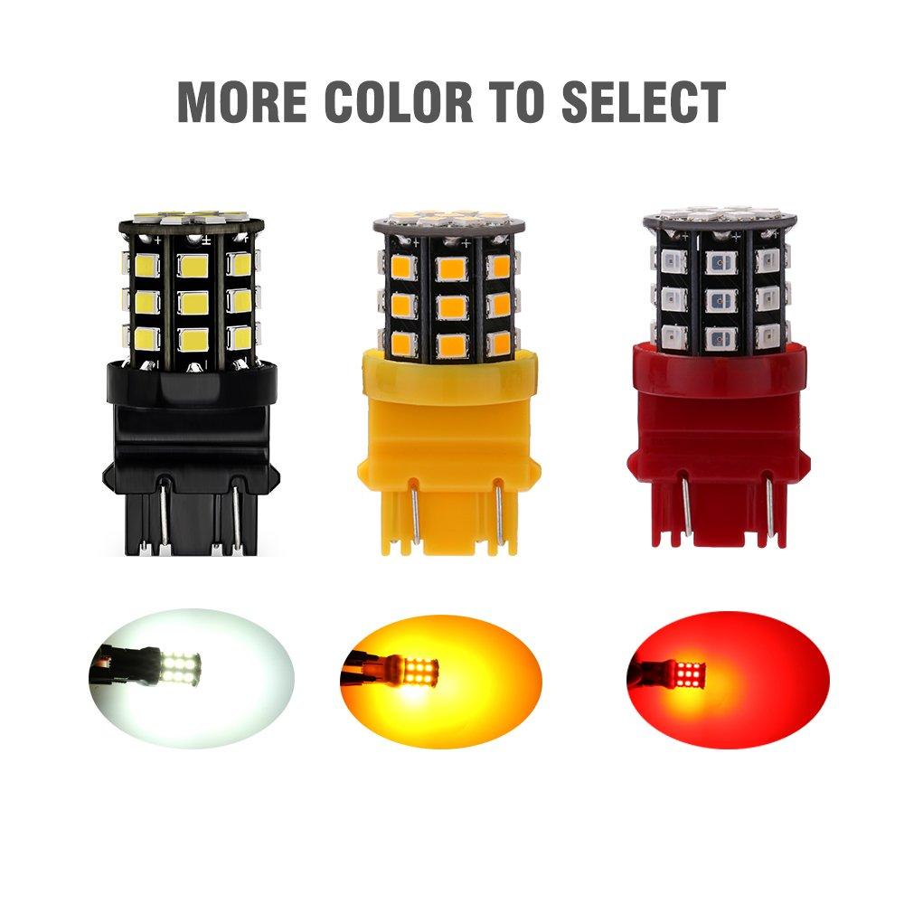 Antline Extremely Bright 50W High Power 881 889 886 894 896 LED Fog Light Bulbs Xenon White for DRL or Fog Lights Packs of 2
