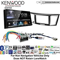Volunteer Audio Kenwood DDX9704S Double Din Radio Install Kit with Apple Carplay Android Auto Fits 2013-2014 Honda Civic