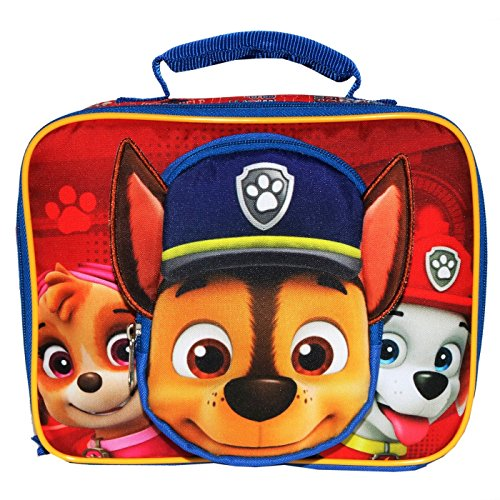 PAW PATROL CHASE, SKYE & MARSHALL PVC & Lead-Free Insulated Lunch Tote Box