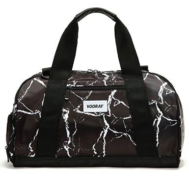 Vooray Burner 16quot Compact Gym Bag With Shoe Pocket Black