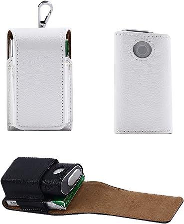 EFGS GLO Electrónico Cigarrillo Funda, Portátil Hangable Cuero Protección Estuche,8: Amazon.es: Hogar