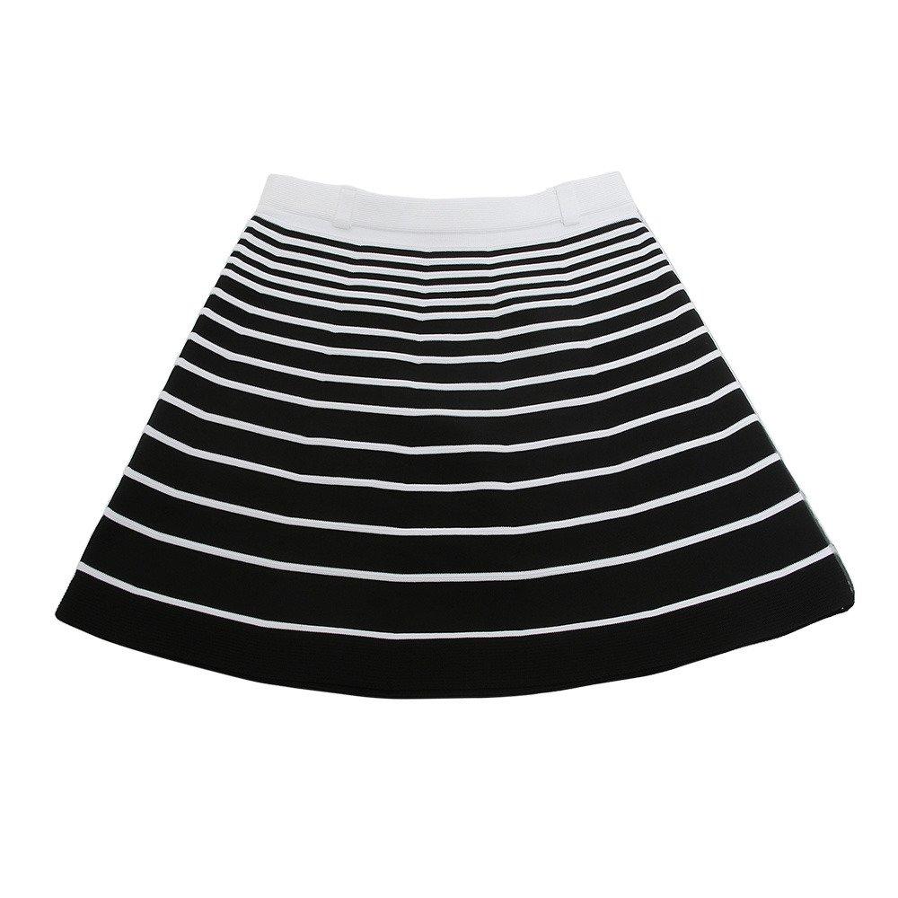 アルチビオ ARCHIVIO スカート スカート レディス 38 ブラック/ホワイト 201 B079ZXSGQ7