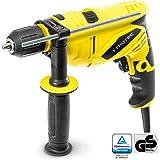 TROTEC Schlagbohrmaschine PHDS 10-230V, DIY, Schnellspannbohrfutter, Zusatzhandgriff, (650 Watt, max. Bohr-Ø: Holz: 30 mm, Ziegel: 13 mm)