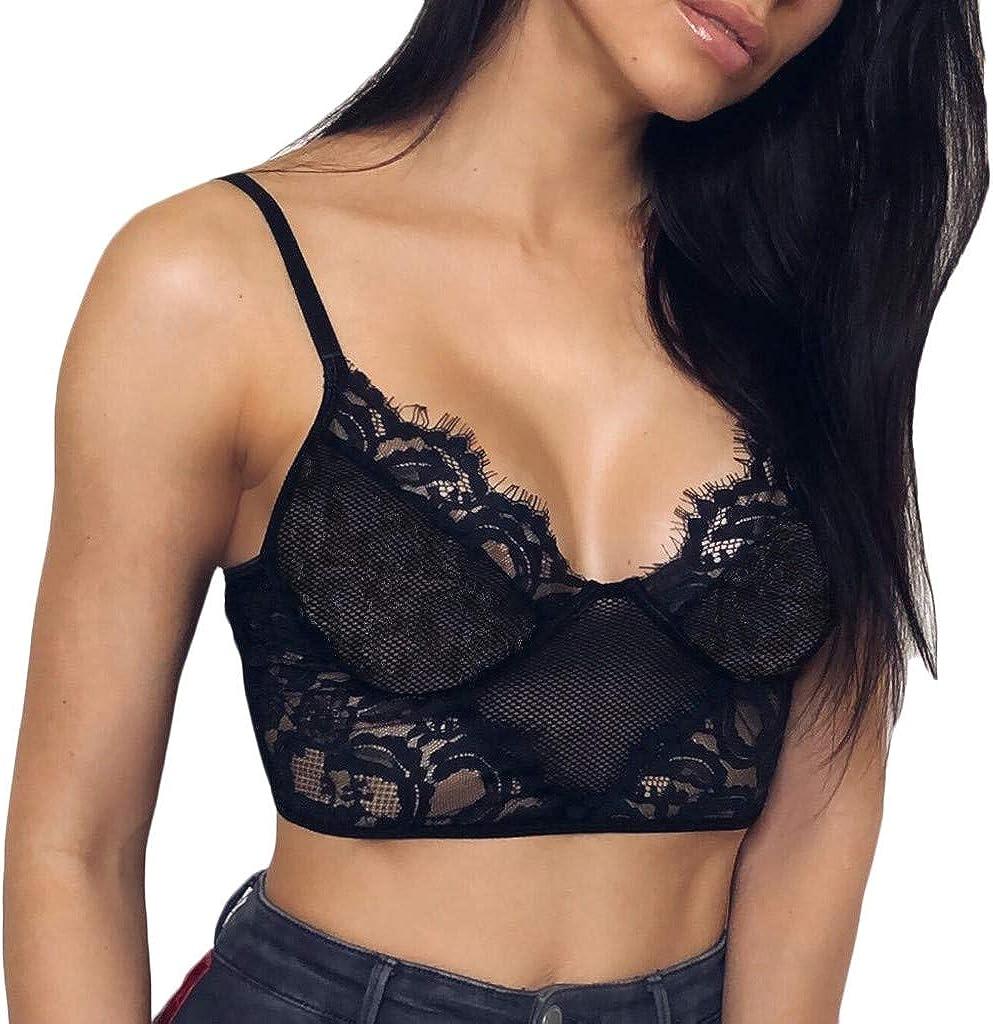 YKARITIANNA Women G-Strings, Thongs & Tangas, Wire Free Bra Lingerie Sexy V-Neck Underwear Novelty More Panties