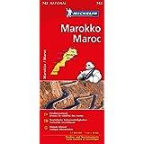 Michelin Marokko: Straßen- und Tourismuskarte 1:1.000.000 (Michelin Nationalkarte)