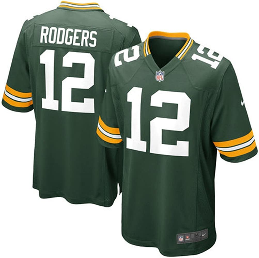 Outerstuff Aaron Rodgers Green Bay Packers #12 NFL Youth Alternate Jersey White