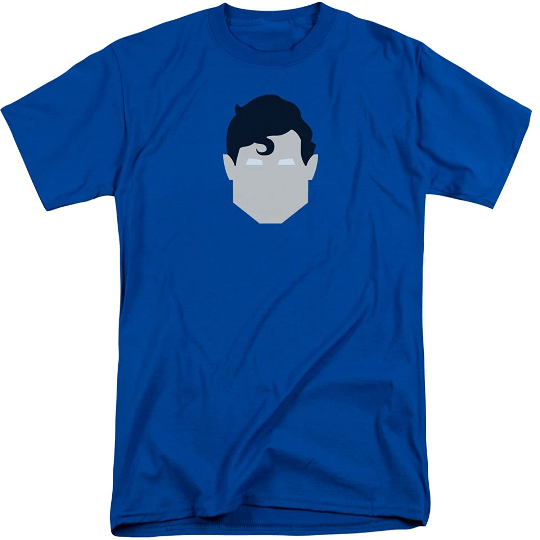 Superman Men's Supes Head Tall T-Shirt