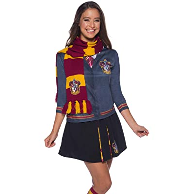 Harry Potter Deluxe Bufanda Gryffindor, Multicolor, (Rubie'S 39033): Juguetes y juegos