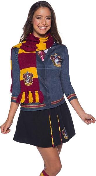 Harry Potter Deluxe Bufanda Gryffindor, Multicolor, (RubieS 39033 ...