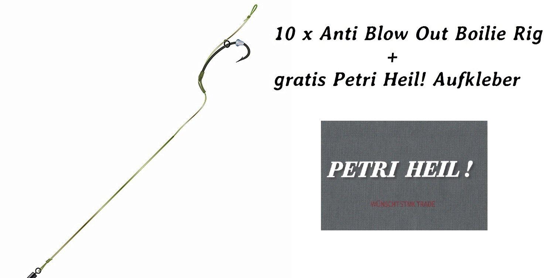 2 Hakengr/ö/ße Anti Blow Out Boilie Rig 2