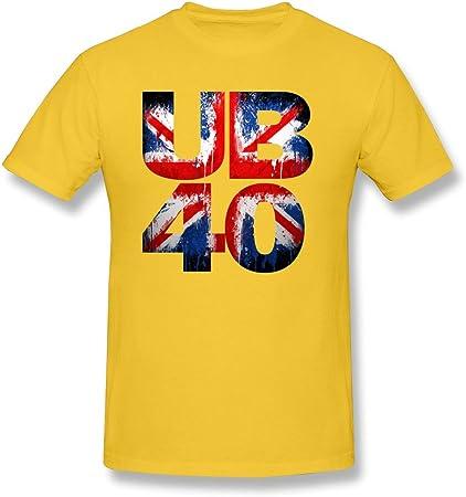 AOPO UB40 British Reggae - Camiseta de Manga Corta para ...