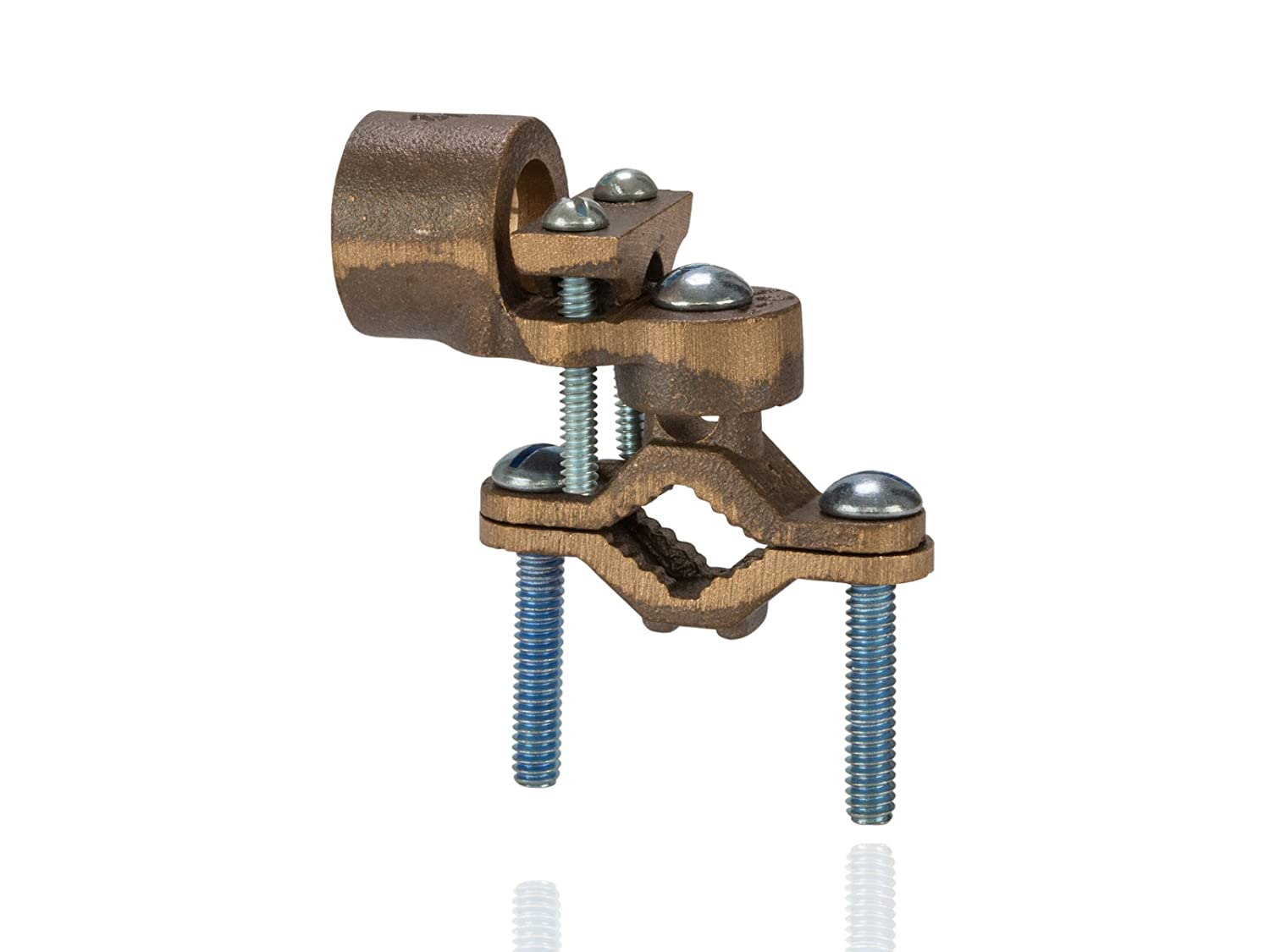 Bronze ground clamps with adapters 12 conduit hub size 12 bronze ground clamps with adapters 12 conduit hub size 12 1 water pipe size 10 sol 20 str ground wire range amazon tools home keyboard keysfo Choice Image