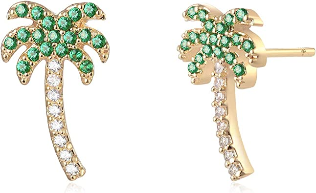 Women Luxury Statement Gold Silver Hoop Stud Earrings Female Fashion Jewelry TR