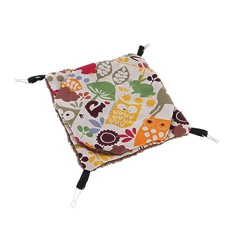 Sharplace Saco de Dormir Reutilizable con Hamaca Suave Cálido Dormir Doble Capa Duradero - Hoja L