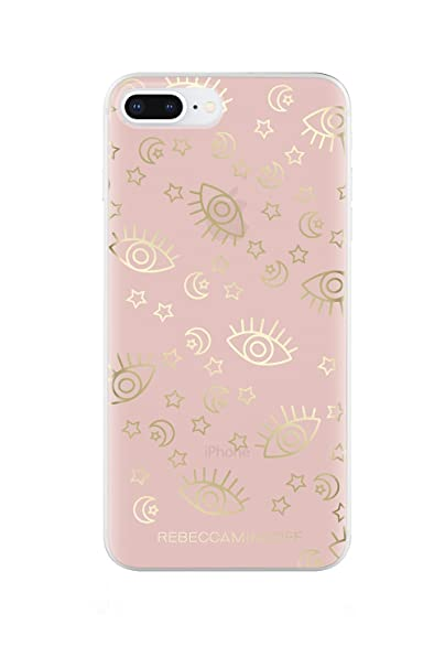 best cheap e3628 f8322 Amazon.com: Rebecca Minkoff Be More Transparent Case for iPhone 8 ...