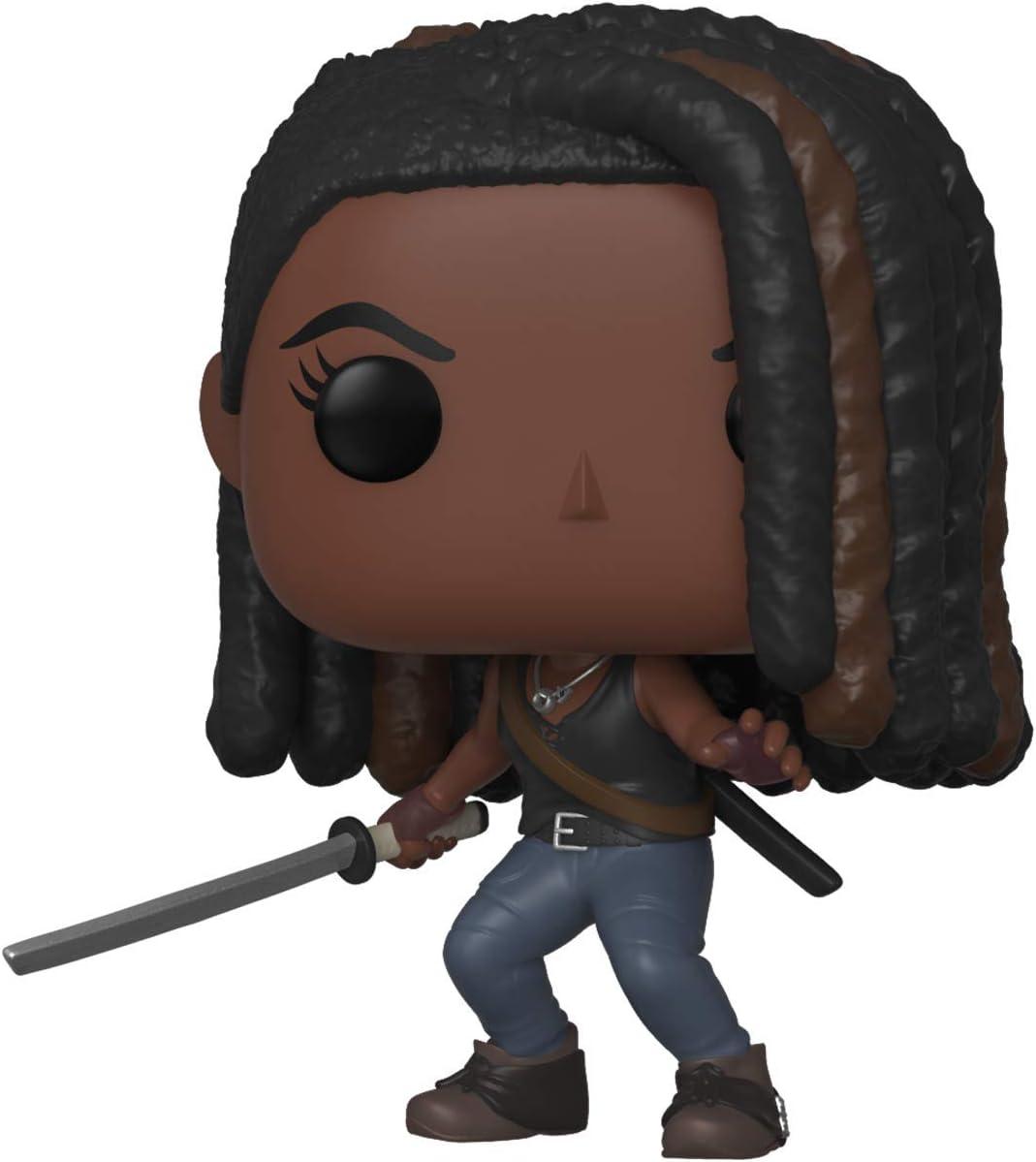 Funko Pop Figura De Vinil TV: Walking Dead-Michonne The Coleccionable, Multicolor (43536)