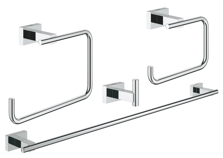 Essentials Cube Master Bathroom Set 4-In-1