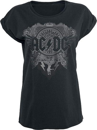 c5785a94486d1 AC DC Black Ice T-Shirt Manches courtes noir  Amazon.fr  Vêtements et  accessoires