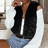 Womens Jacket Sleeveless Solid Waistcoat Solid