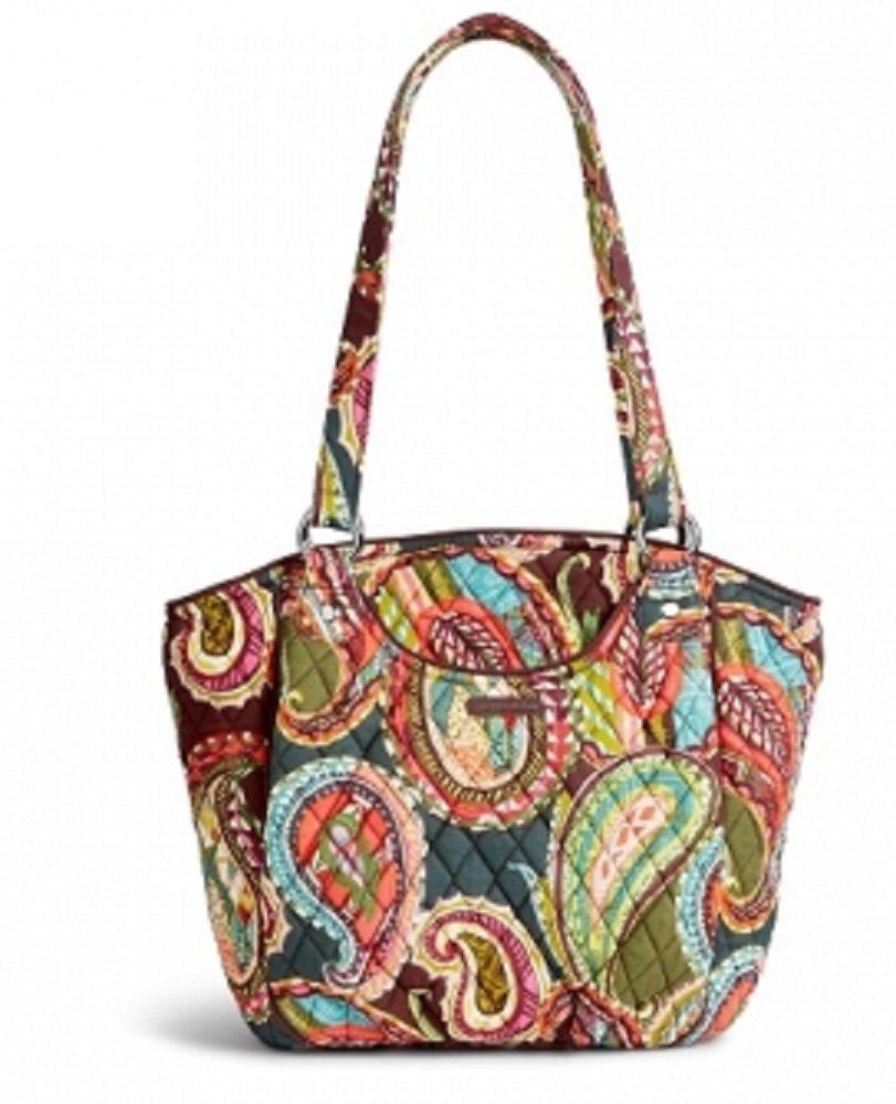Vera Bradley Women's Glenna Shoulder Bag Heirloom Paisley