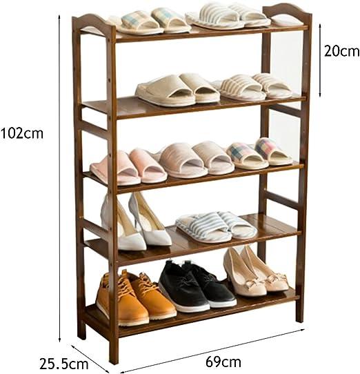 Estante de Zapatos 5 Tier Shoe Rack Mueble de almacenamiento