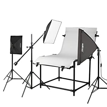 Walimex Shooting Table Pro Daylight Studio Set: Amazon co uk: Camera