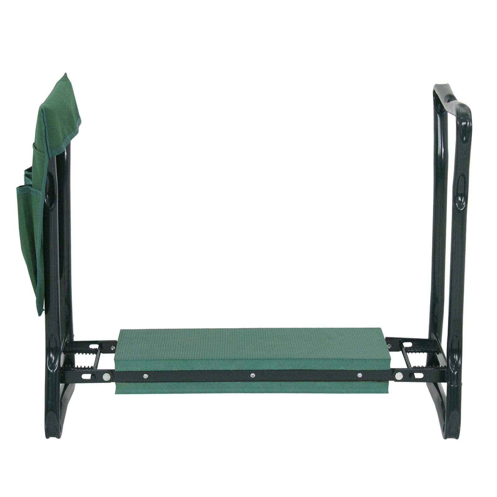 (GG) Garden Kneeler Seat w/EVA Folding Portable Bench Kneeling Pad and Tool Pouch New by Good Grannies by (GG) (Image #3)