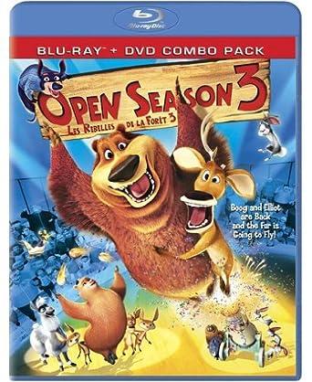 Open Season 3 Les Rebelles De La Forêt 3 Bilingual Blu Ray