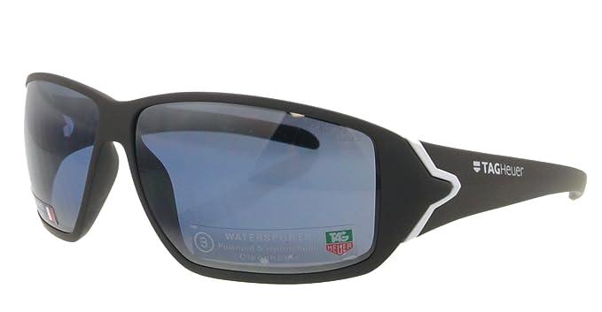Amazon.com: tag heuer anteojos de sol TH 9203 gris 413 Racer ...