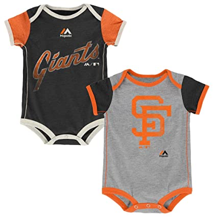 e61b3963 San Francisco Giants Vintage Baby/Infant Go Team 2 Piece Creeper Set 6-9