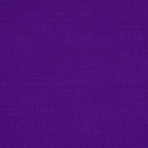 ly Cotton Broadcloth Purple Fabric by The Yard ()