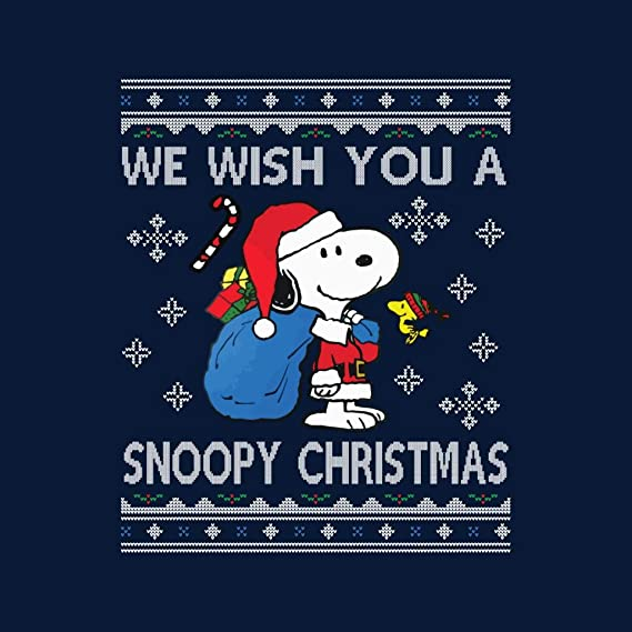 We Wish You A Snoopy Christmas Knit Kids Varsity Jacket ...