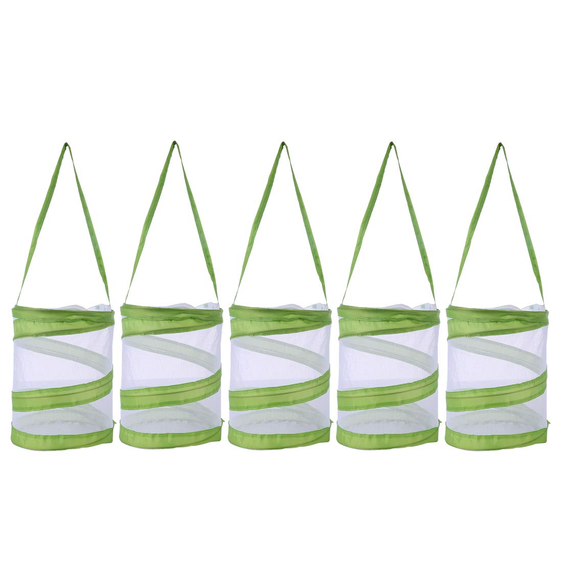 Yamix 5Pack Mini Mesh Butterfly House Butterfly and Insect Habitat Cage Butterfly Terrarium Pop-up