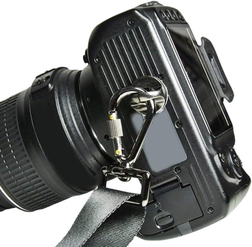 Yeshai3369 Shoulder Sling Neck Strap 1//4 Screw Connecting Adapter Hook for DSLR Camera